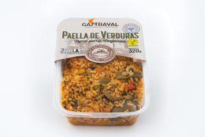 productos envasados paella de verduras