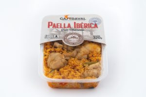 productos envasados paella ibérica