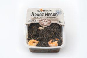 productos envasados arroz negro