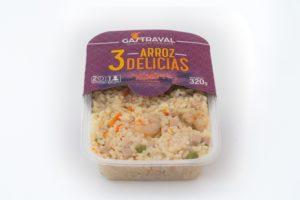 productos envasados arroz 3 delicias
